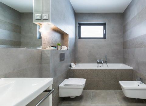 Fotografija kupaonice u hotelu