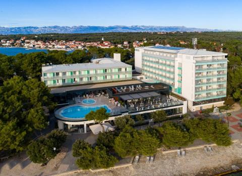 Fotografija hotela snimana dronom