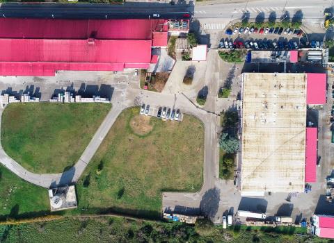 Tvornica snimana dronom