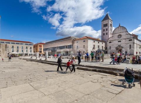 Crkva svete Marije, forum, Zadar.