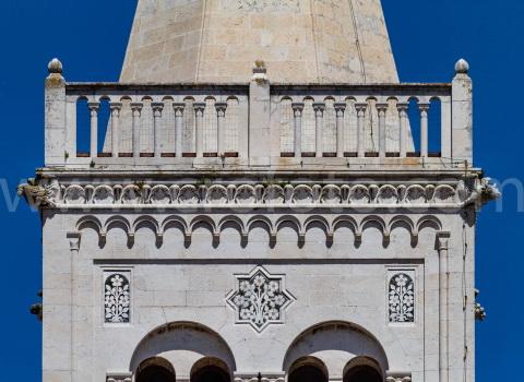 Zvonik svete Stošije u Zadru.